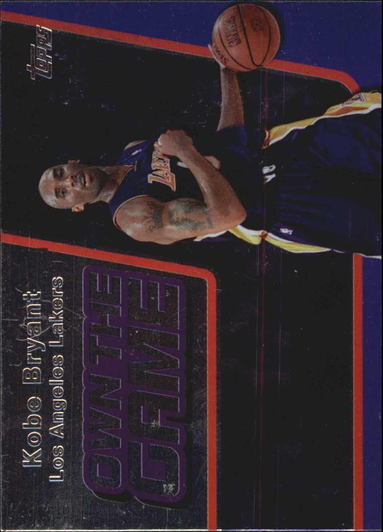 2006-07 Topps Own the Game #1 Kobe Bryant