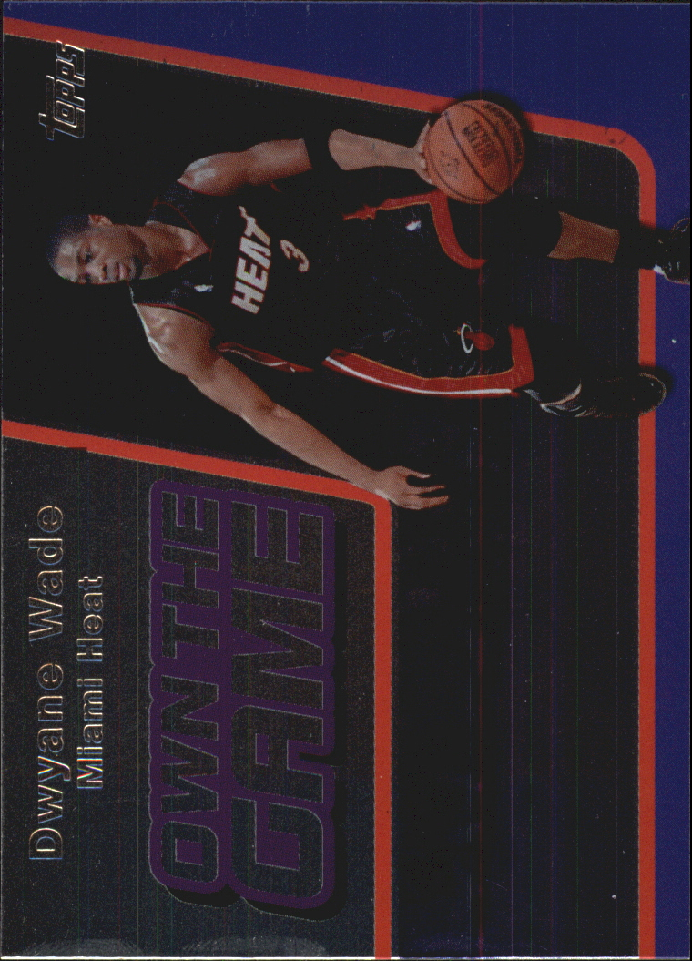 2006-07 Topps Own the Game #5 Dwyane Wade