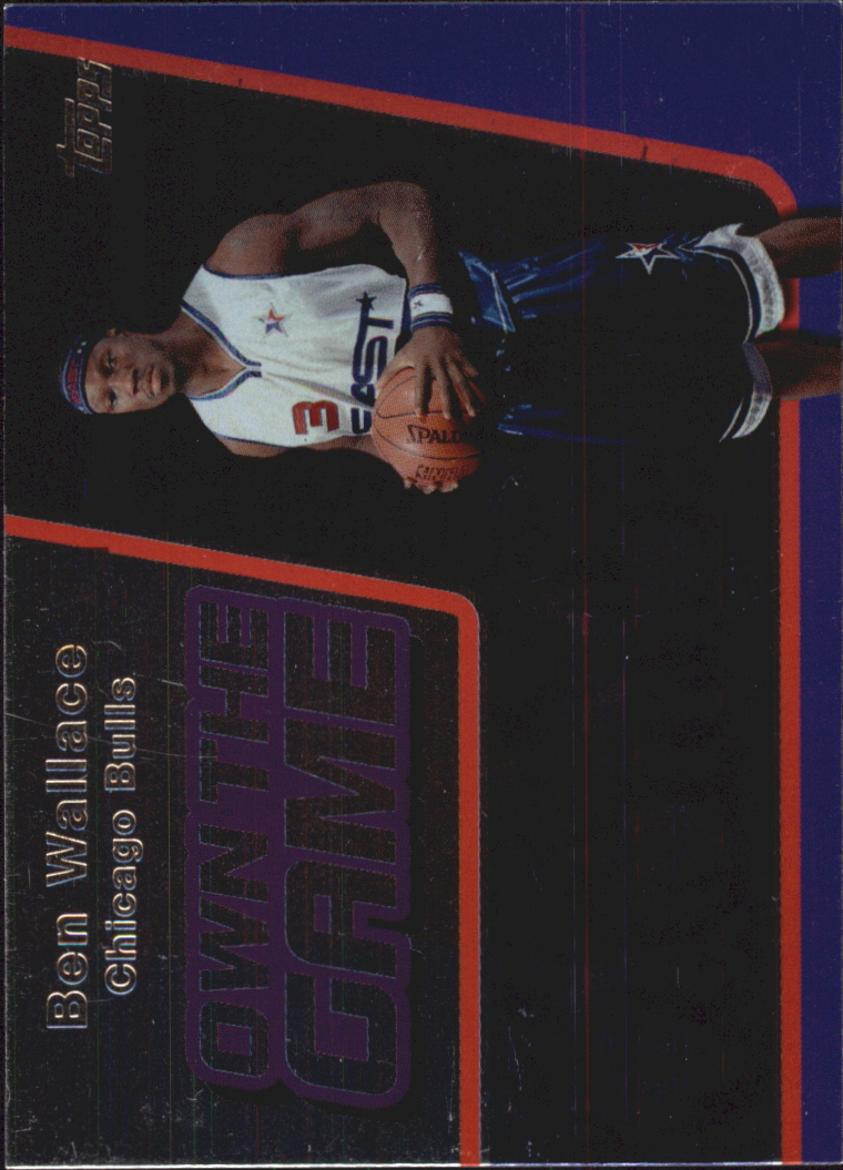 2006-07 Topps Own the Game #9 Ben Wallace