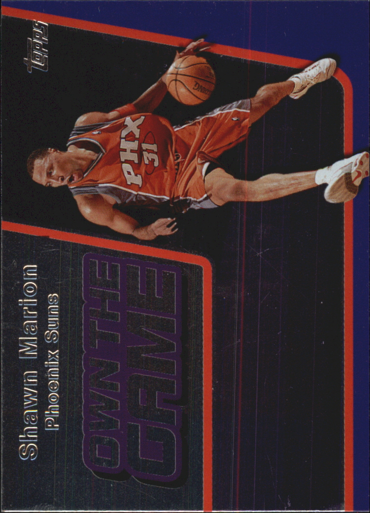 2006-07 Topps Own the Game #25 Shawn Marion