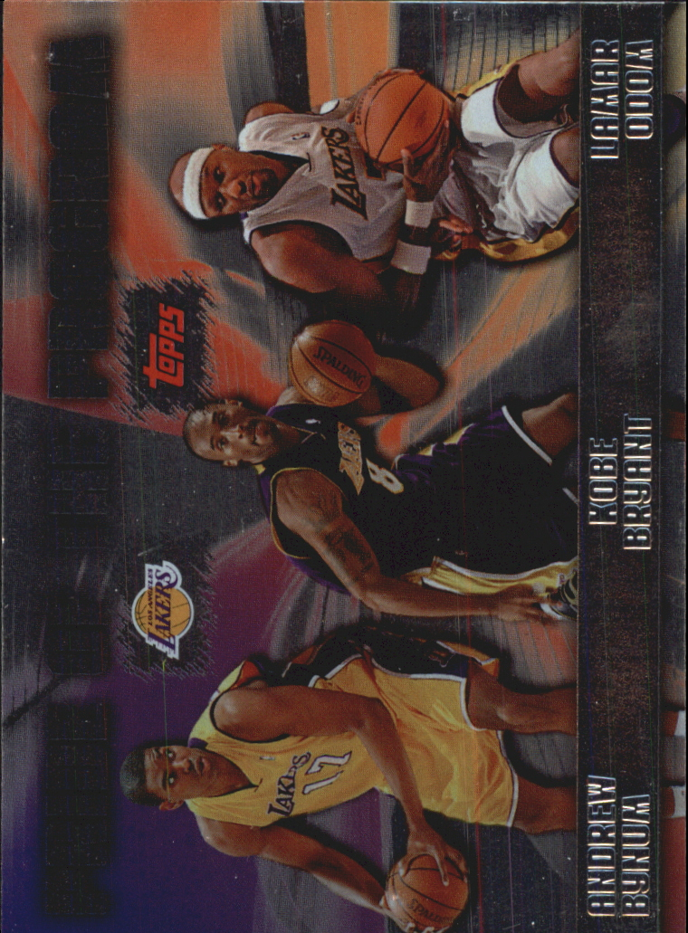 2006-07 Topps Pride of the Program #PP9 Kobe Bryant/Lamar Odom/Andrew Bynum