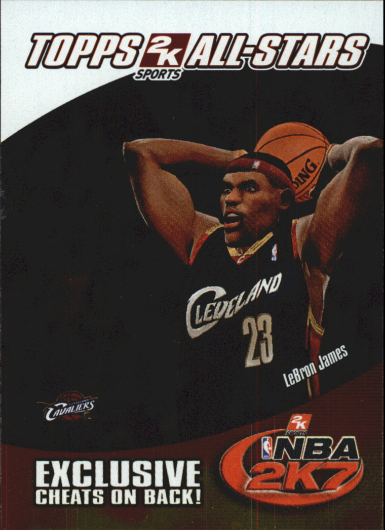 2006-07 Topps 2K7 Promotion #4 LeBron James