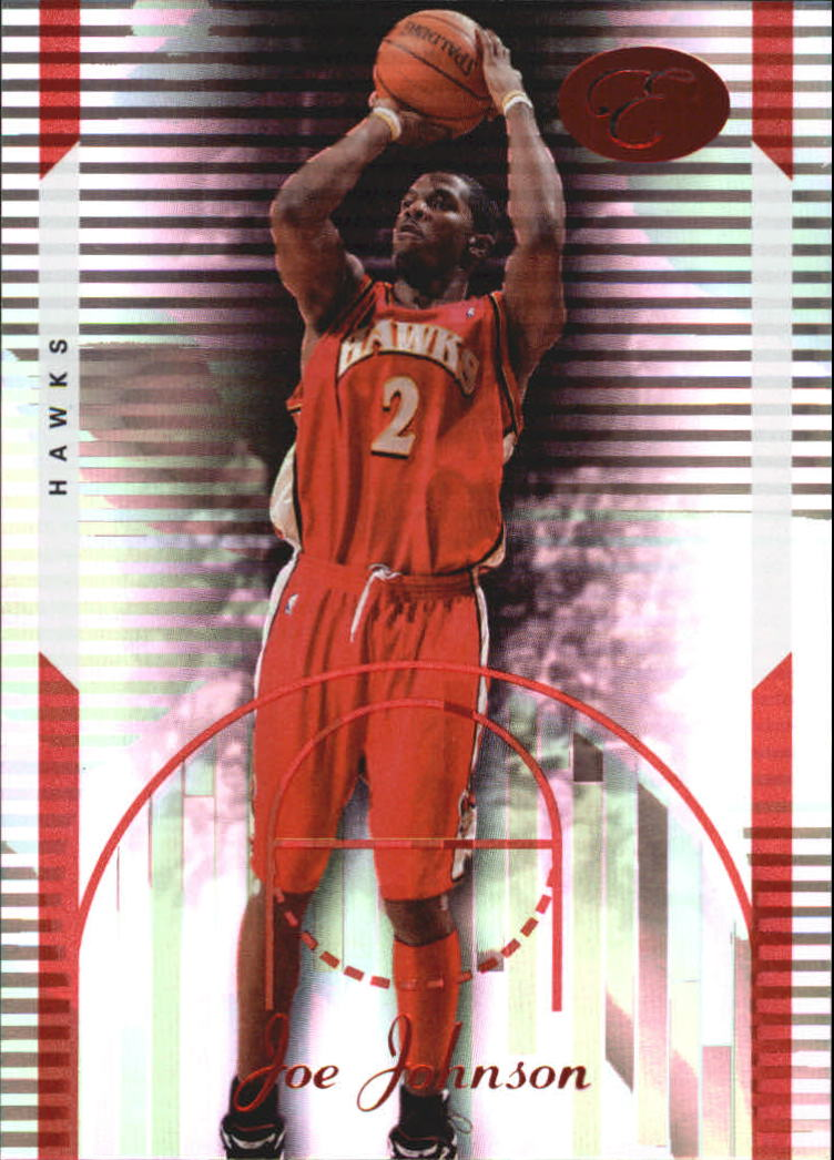 2006-07 Bowman Elevation Red #36 Joe Johnson