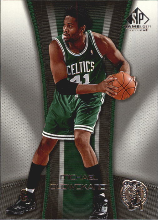 2006-07 SP Game Used #7 Michael Olowokandi