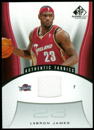 2006-07 SP Game Used #116 LeBron James JSY