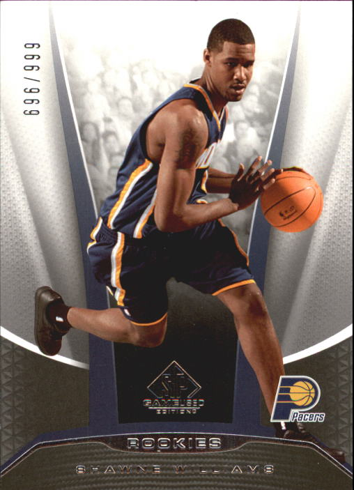 2006-07 SP Game Used #217 Shawne Williams RC