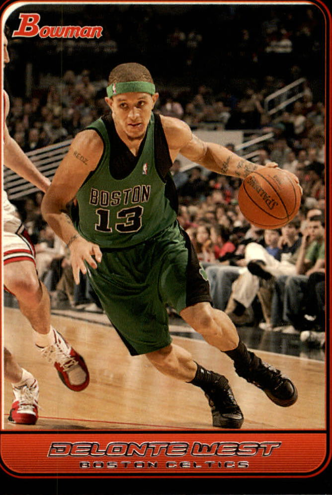 2006-07 Bowman #2 Delonte West