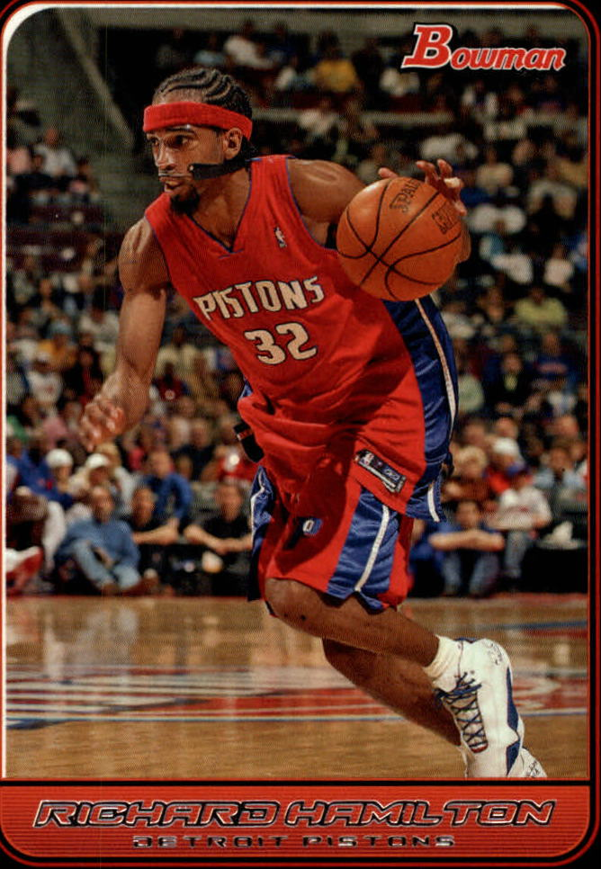 2006-07 Bowman #7 Richard Hamilton