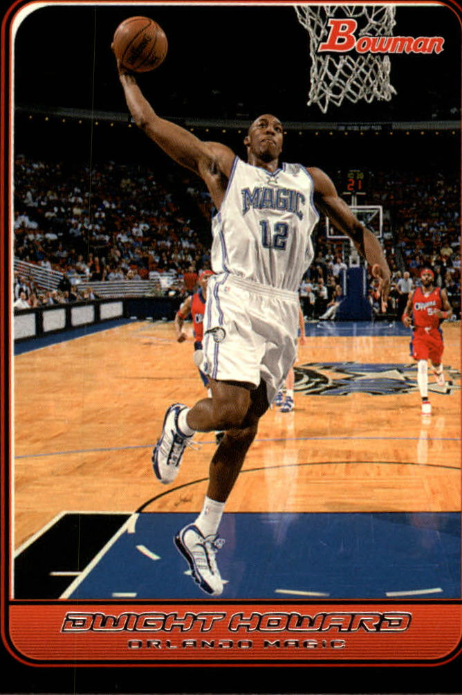 2006-07 Bowman #14 Dwight Howard