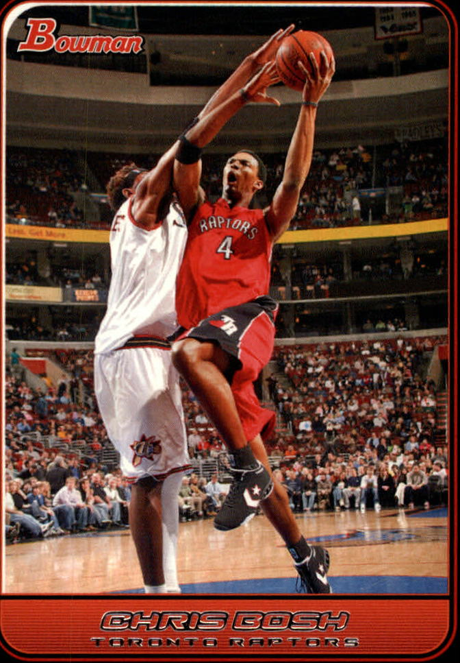 2006-07 Bowman #15 Chris Bosh