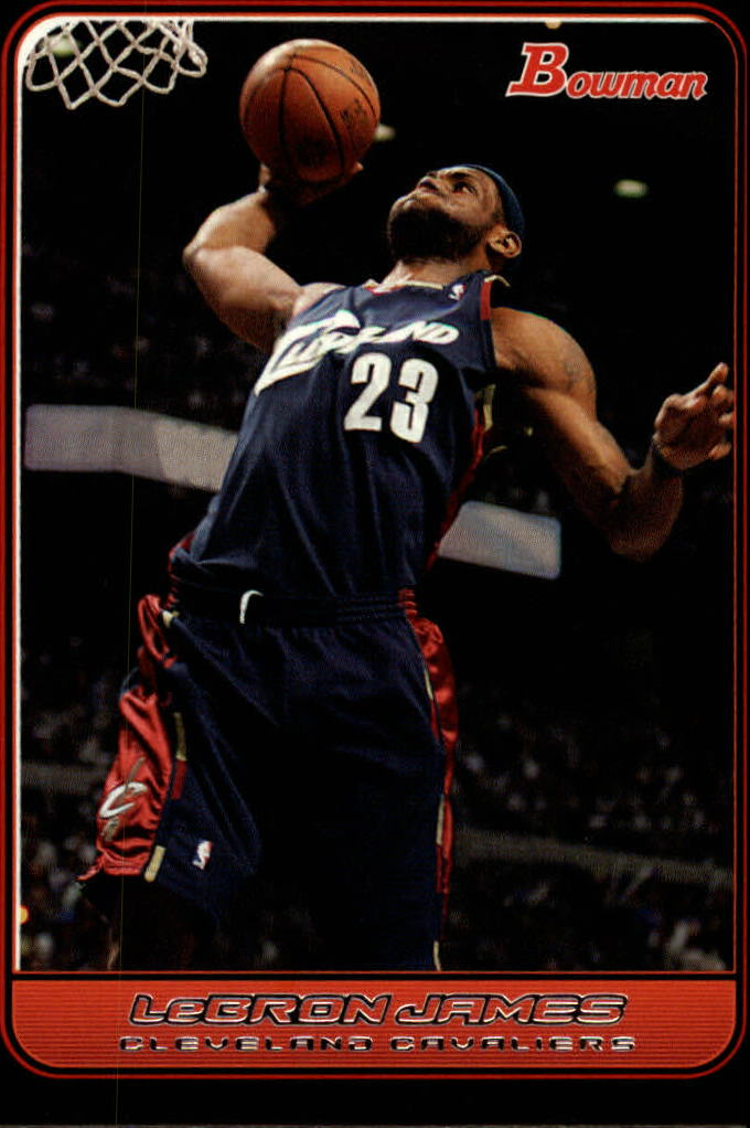 2006-07 Bowman #22 LeBron James