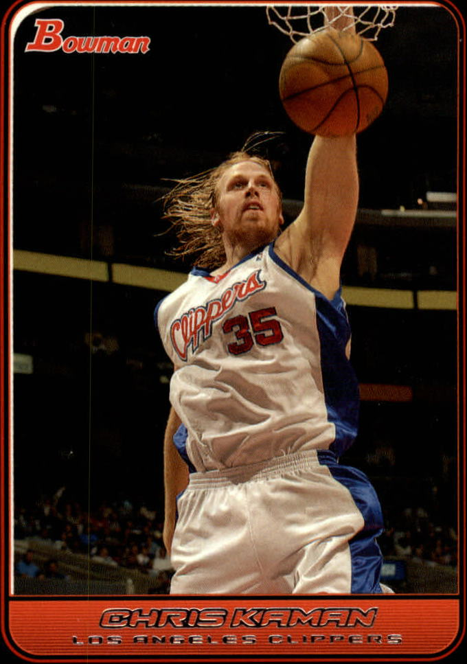 2006-07 Bowman #58 Chris Kaman
