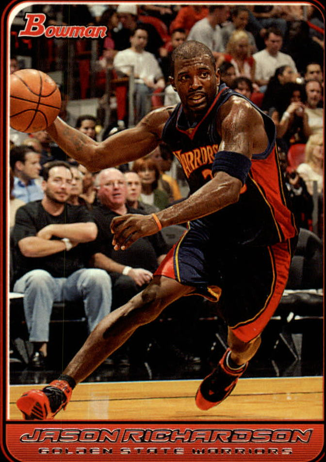 2006-07 Bowman #59 Jason Richardson
