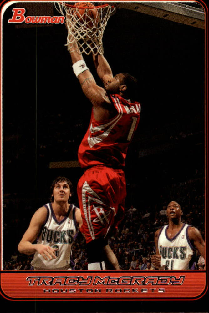 2006-07 Bowman #74 Tracy McGrady