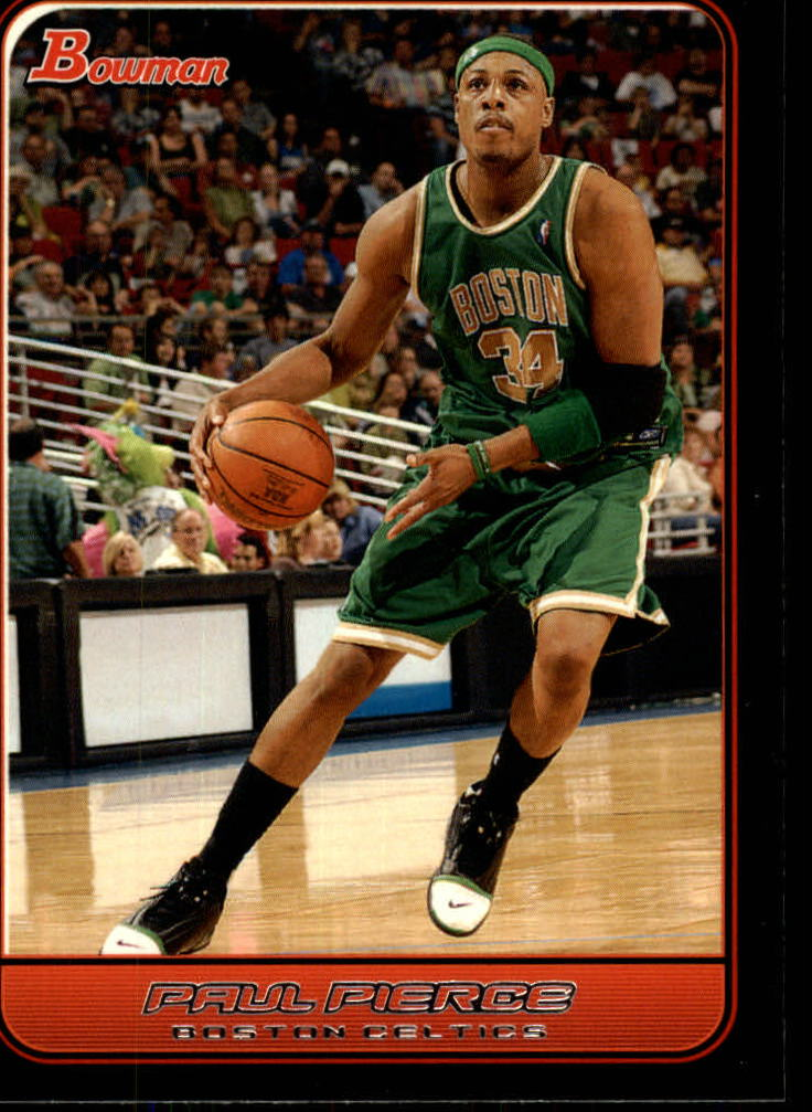 2006-07 Bowman #99 Paul Pierce