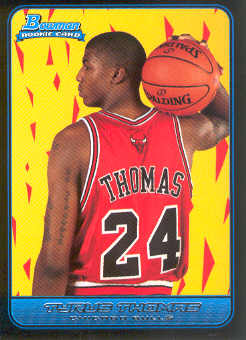 2006-07 Bowman #123 Tyrus Thomas RC