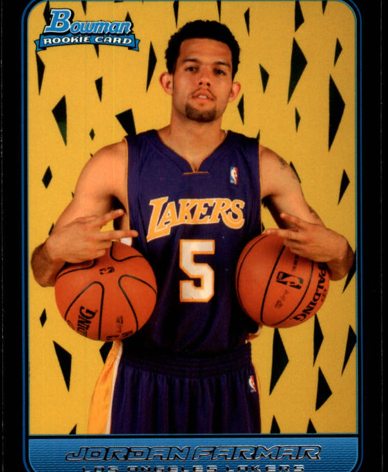 2006-07 Bowman #130 Jordan Farmar RC