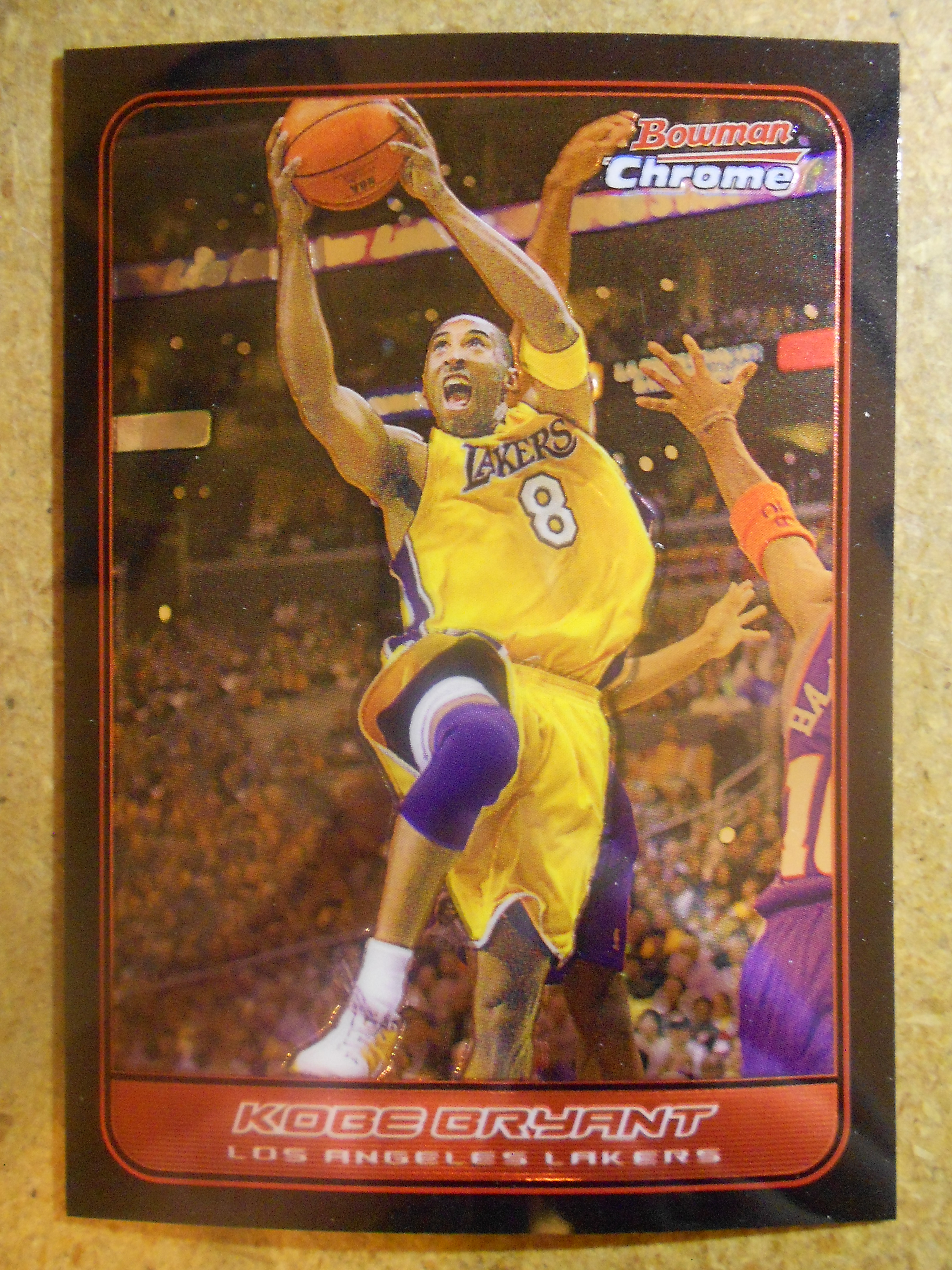 2006-07 Bowman Chrome #6 Kobe Bryant