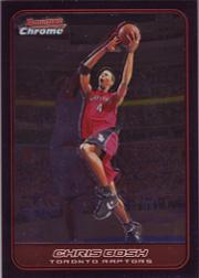 2006-07 Bowman Chrome #15 Chris Bosh