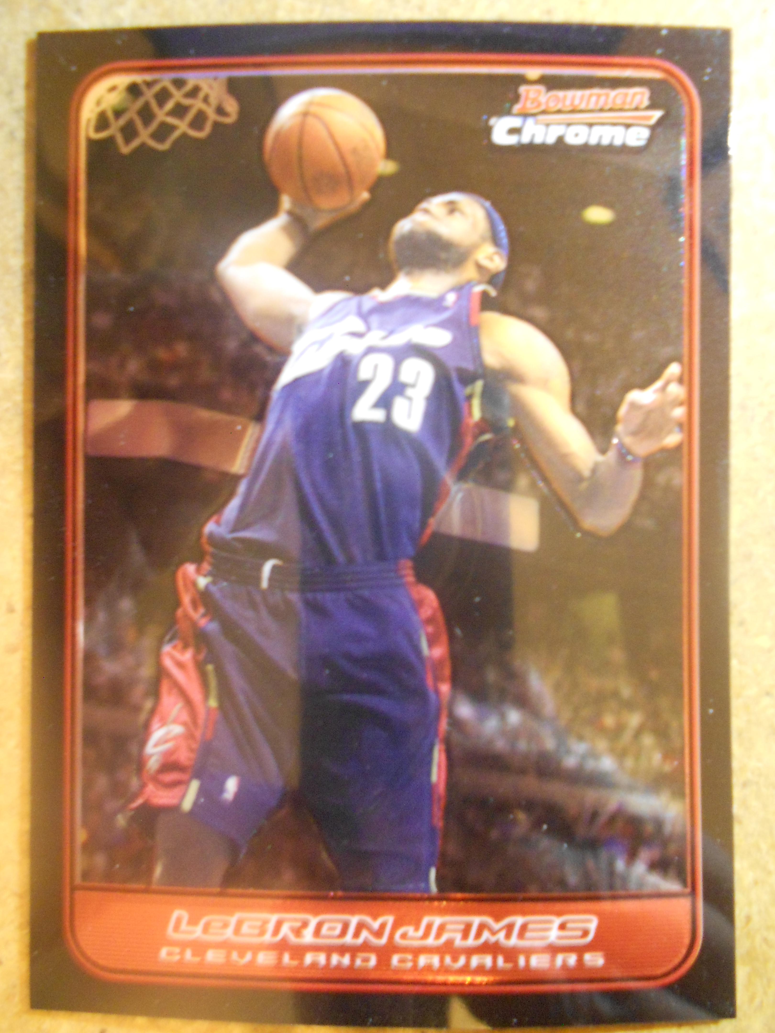 2006-07 Bowman Chrome #22 LeBron James