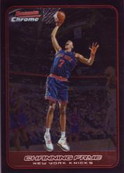 2006-07 Bowman Chrome #23 Channing Frye
