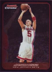 2006-07 Bowman Chrome #60 Jason Kidd