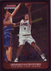 2006-07 Bowman Chrome #95 Chris Webber