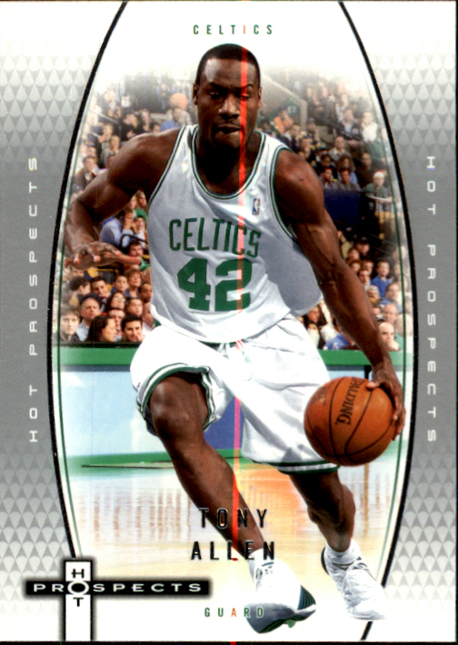 2006-07 Fleer Hot Prospects #3 Tony Allen