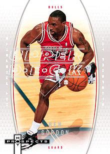 2006-07 Fleer Hot Prospects #7 Ben Gordon