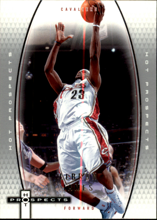 2006-07 Fleer Hot Prospects #10 LeBron James