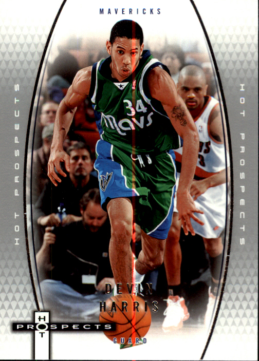2006-07 Fleer Hot Prospects #11 Devin Harris