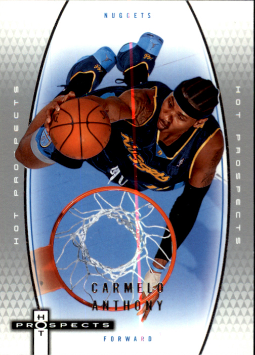 2006-07 Fleer Hot Prospects #13 Carmelo Anthony