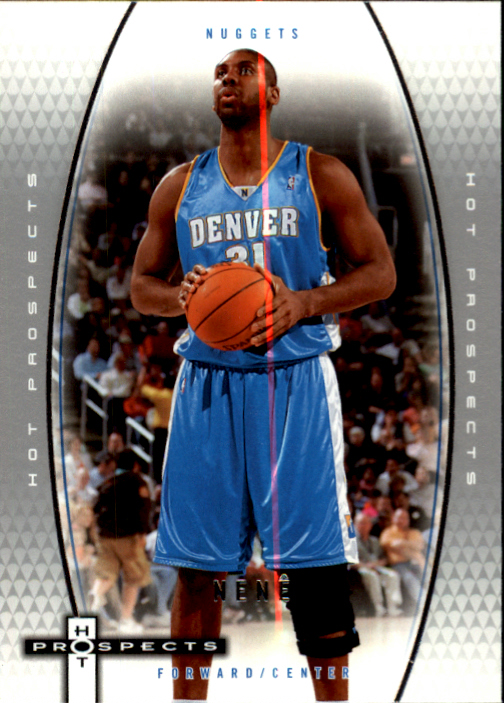 2006-07 Fleer Hot Prospects #14 Nene