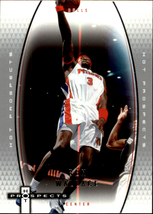 2006-07 Fleer Hot Prospects #16 Ben Wallace