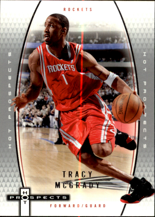 2006-07 Fleer Hot Prospects #19 Tracy McGrady
