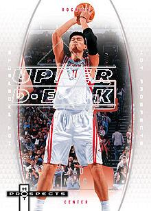 2006-07 Fleer Hot Prospects #20 Yao Ming