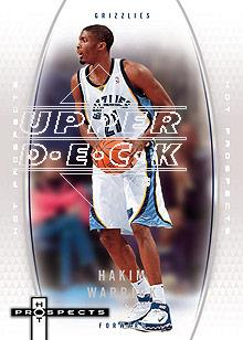2006-07 Fleer Hot Prospects #28 Hakim Warrick