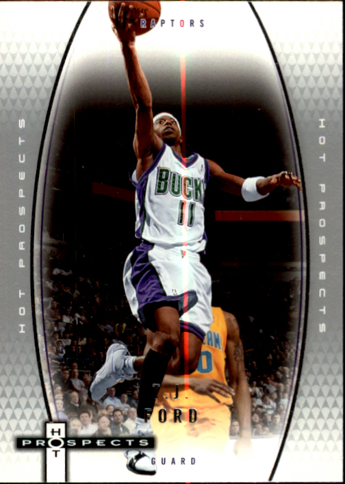 2006-07 Fleer Hot Prospects #31 T.J. Ford