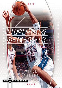 2006-07 Fleer Hot Prospects #35 Vince Carter