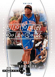 2006-07 Fleer Hot Prospects #40 Nate Robinson