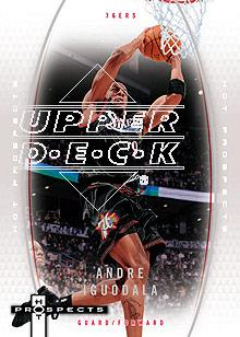 2006-07 Fleer Hot Prospects #43 Andre Iguodala