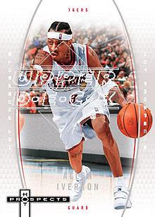 2006-07 Fleer Hot Prospects #44 Allen Iverson