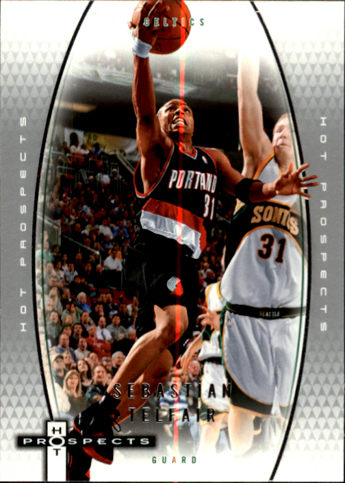 2006-07 Fleer Hot Prospects #48 Sebastian Telfair