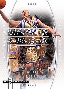 2006-07 Fleer Hot Prospects #50 Mike Bibby
