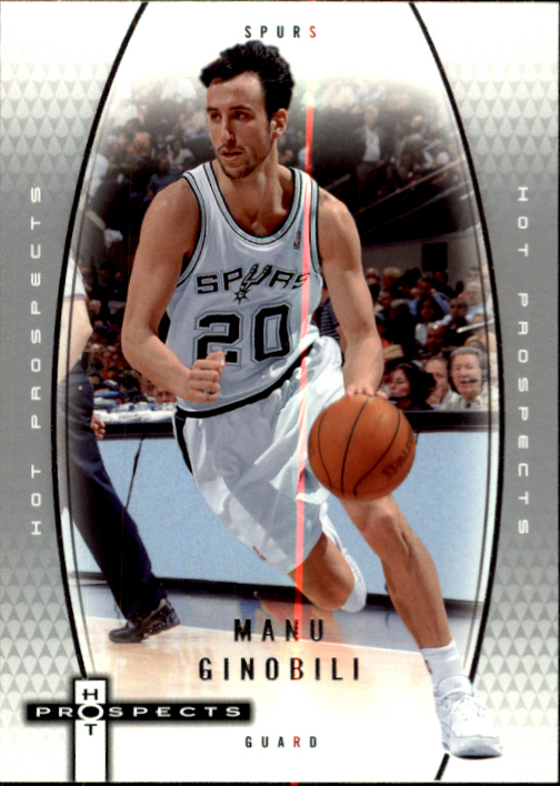 2006-07 Fleer Hot Prospects #52 Manu Ginobili