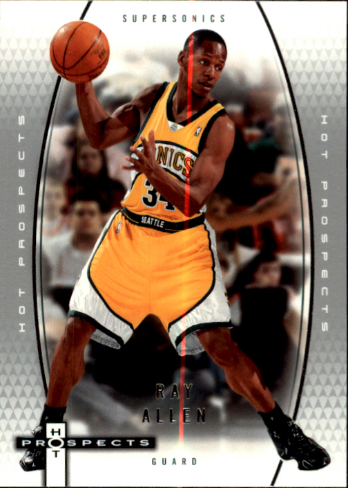 2006-07 Fleer Hot Prospects #53 Ray Allen