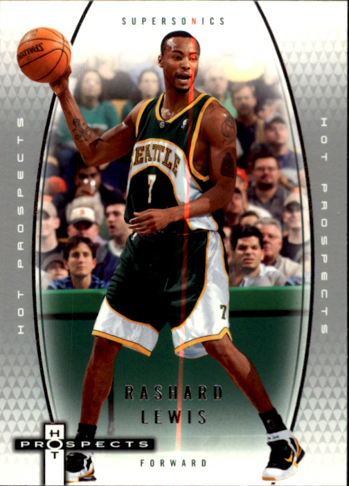 2006-07 Fleer Hot Prospects #54 Rashard Lewis
