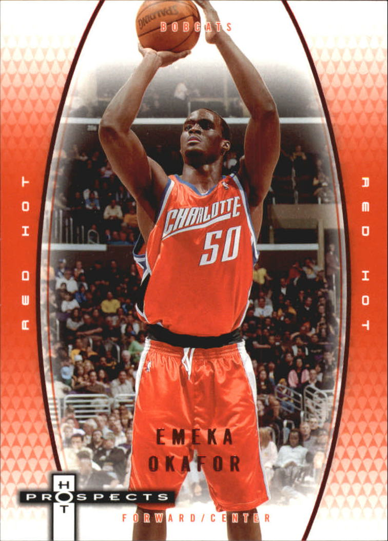 2006-07 Fleer Hot Prospects Red Hot #6 Emeka Okafor
