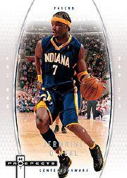 2006-07 Fleer Hot Prospects Red Hot #21 Jermaine O'Neal