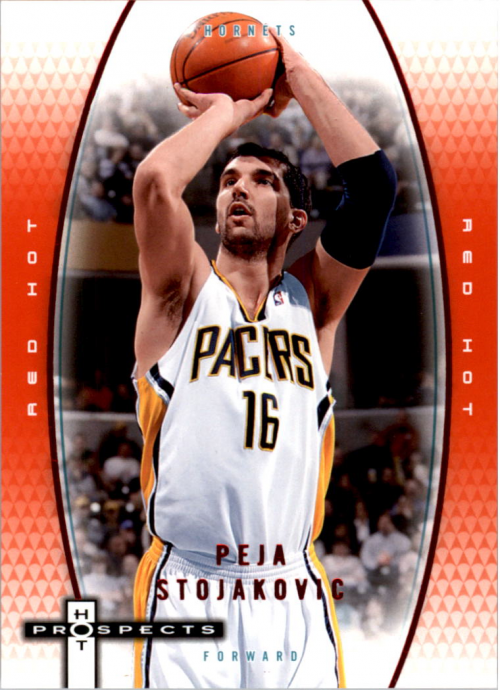 2006-07 Fleer Hot Prospects Red Hot #22 Peja Stojakovic